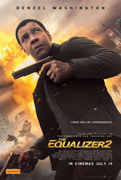 The Equalizer 2 Movie Poster (#2 of 5) - IMP Awards