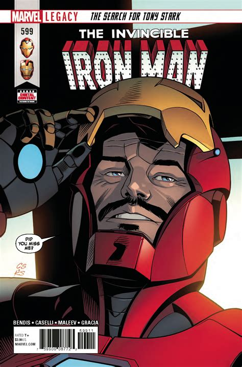 Invincible Iron Man #599 Features Two Shocking Guest Stars
