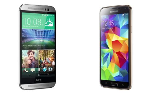Spec Battle: HTC One (M8) vs Samsung Galaxy S5 - Android