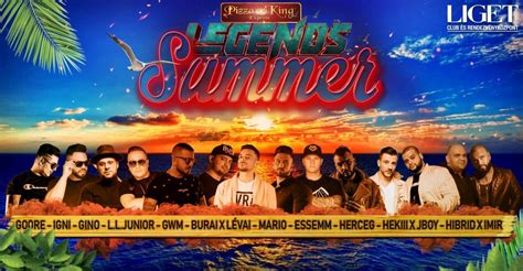 Legends Summer Liget Burai GWM Mario Essemm Junior - OneTicket