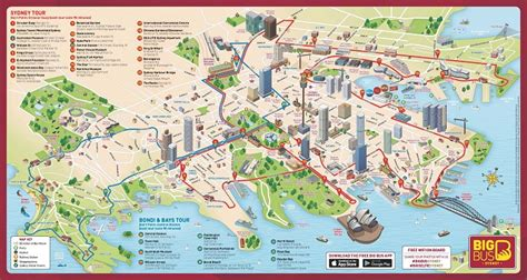 Sydney Attractions Map PDF - FREE Printable Tourist Map