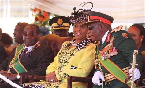 Mugabe reveals Grace-Chiwenga relationship