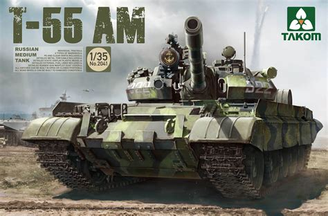 The Modelling News: News from Takom – T-55 Family to be