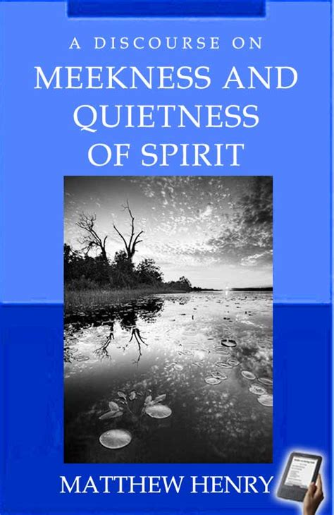 A Discourse on Meekness and Quietness of Spirit (eBook