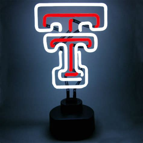Texas Tech University Neon Sign - Red Raiders - Man Cave Gifts