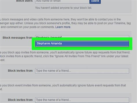 How to Block Facebook Messages on a PC or Mac: 6 Steps