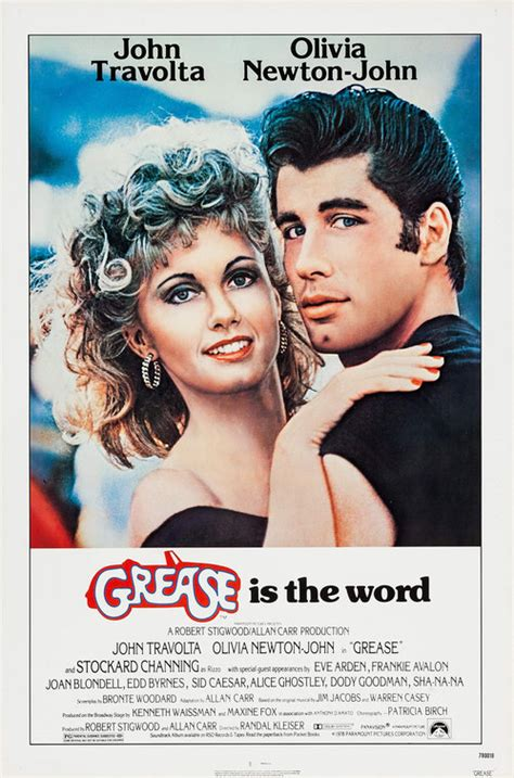 Grease Movie Poster (#2 of 5) - IMP Awards