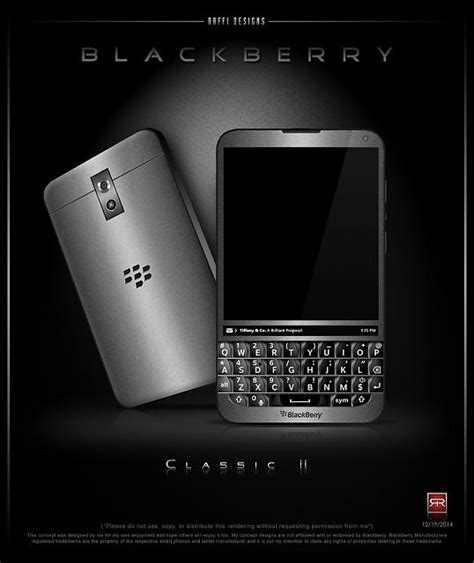 """Blackberry """"Classic II"""" Silver Edition with new"""