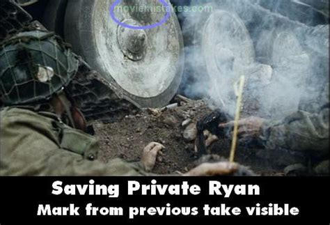 Saving Private Ryan (1998) movie mistake picture (ID 6689)