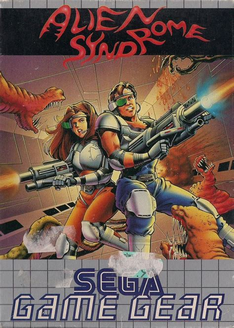 Alien Syndrome for Game Gear (1992) - MobyGames