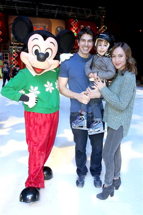 Courtney Ford, Brandon Routh, Leo James Routh - Courtney
