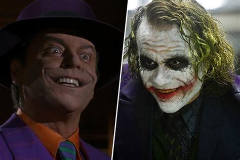 Who's the most iconic Joker: Jack Nicholson or Heath