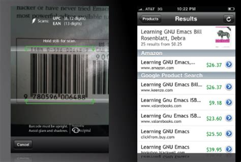 Best Barcode iPhone Applications - Barcode Scanners for iOS