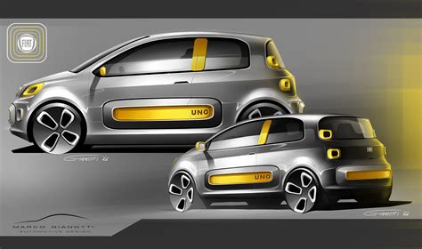 Fiat Uno - sketch Marco Gianotti | Sketch and drawings