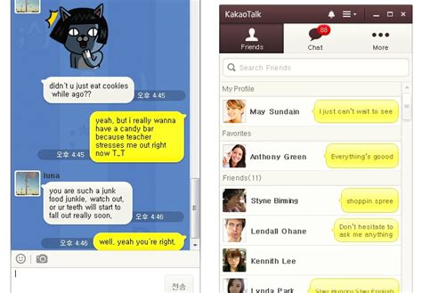 KakaoTalk Releases PC Version To Compete w/ Line, Viber