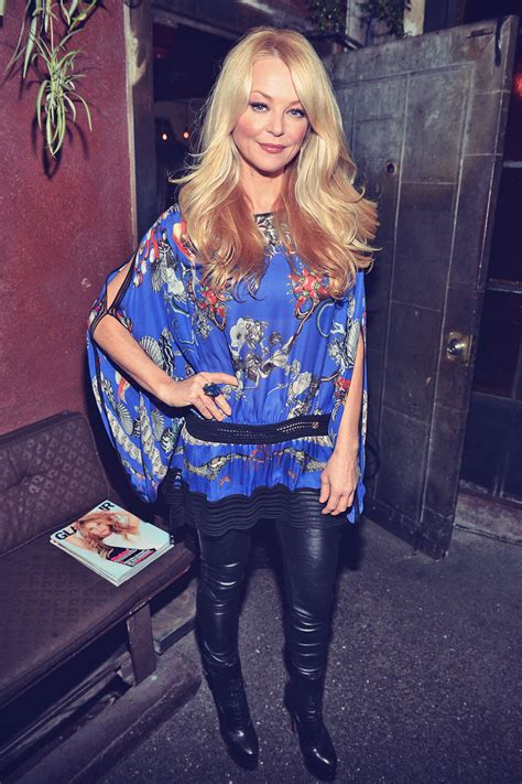 Charlotte Ross attends a Party to celebrate Glamour Hearts