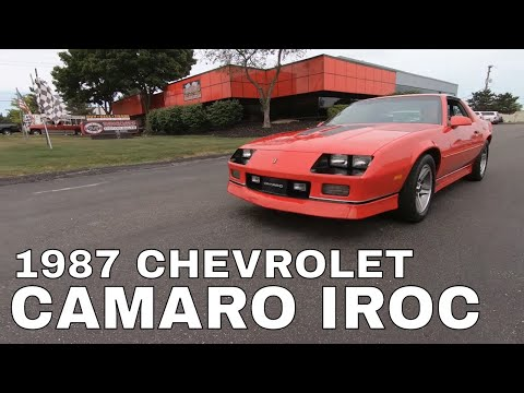 1988 IROCZ camaro 454 big block( first start up just