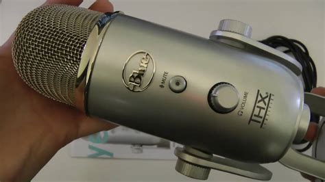 Blue Microphones Yeti Mic Review - YouTube
