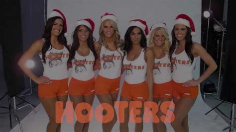 Happy Holidays from the Hooters Girls - YouTube