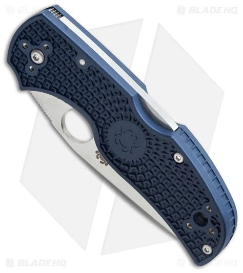 Spyderco Native 5 Lightweight Knife Dark Blue FRN (3
