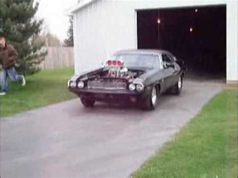 1970 Dodge Challenger 528 Hemi Injected Blown on A - YouTube