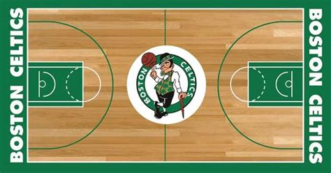 Boston Celtics Basketball Court | NBA | Pinterest