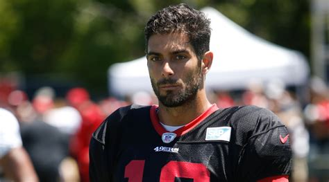 49ers QB Jimmy Garoppolo throws five consecutive