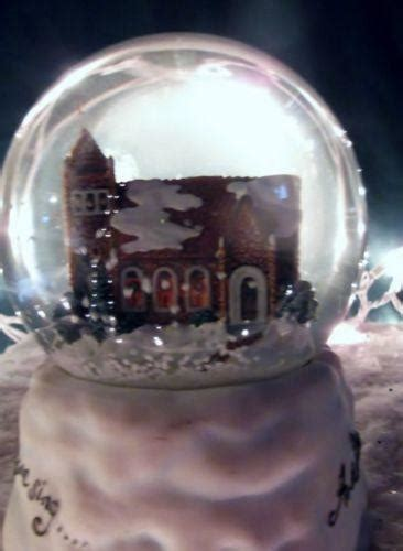 White Christmas Snow Globe | eBay