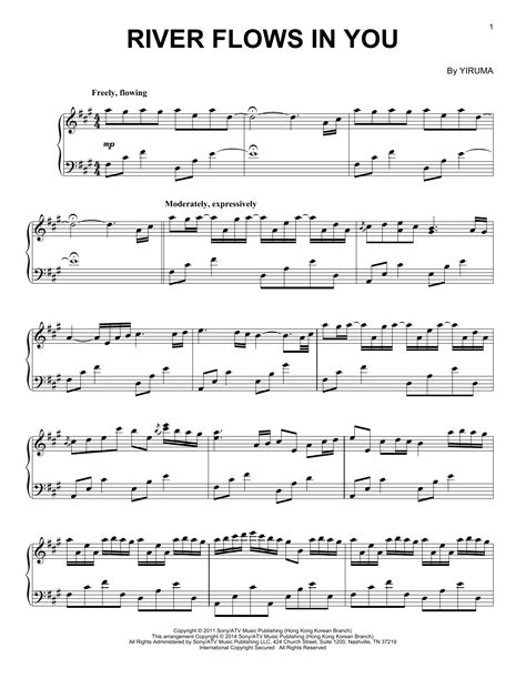 River Flows In You | Sheet Music Direct