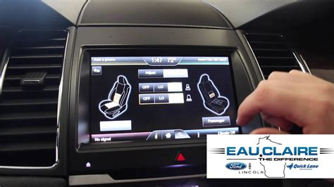 2015 Ford Taurus Limited | Massaging Seats - YouTube