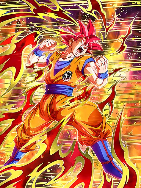 Fateful Strike Super Saiyan God Goku | Dragon Ball Z
