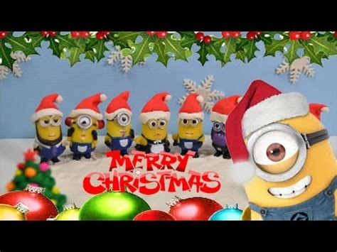 Merry Christmas! Minions dance Jingle Bells and We wish