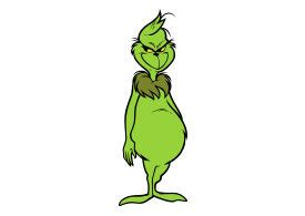 The Grinch Vector - SuperAwesomeVectors
