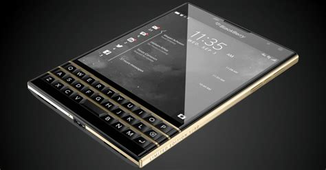 Gold BlackBerry Passport now available, but only 50 of them
