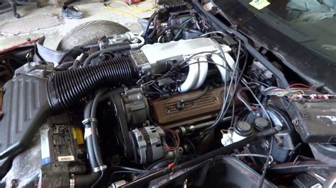 1990 C4 Corvette L98 Engine for Sale - YouTube