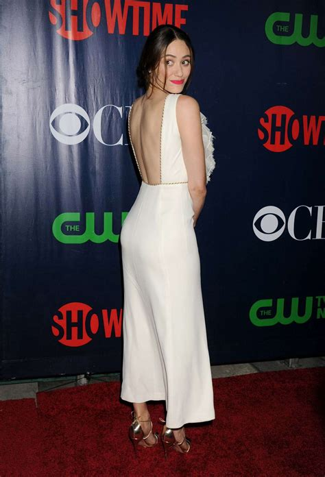 Emmy Rossum – CBS, CW and Showtime TCA Summer Press Tour