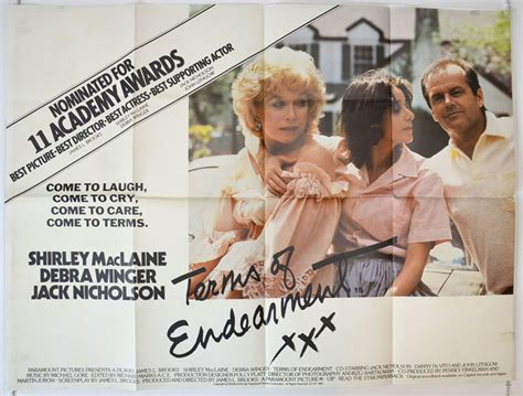 Terms Of Endearment - Original Cinema Movie Poster From